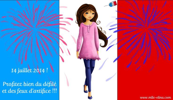 14 juillet 2014 ! Fêtons ensemble le Made in France #France