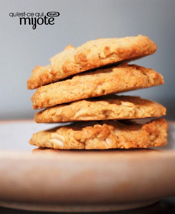 Biscuits à l'avoine et au beurre d'arachide #recette