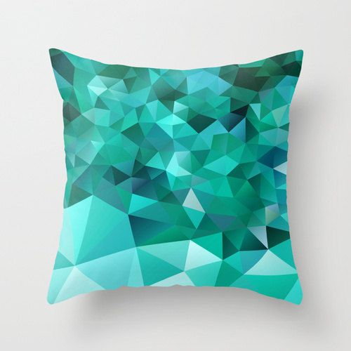 Green Pillow cover Throw pillow Cushion covers Pillow by NikaLim