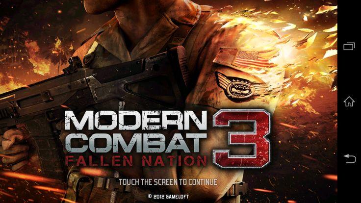 APK BARU: Modern Combat 3: Fallen Nation v1.1.4g APK