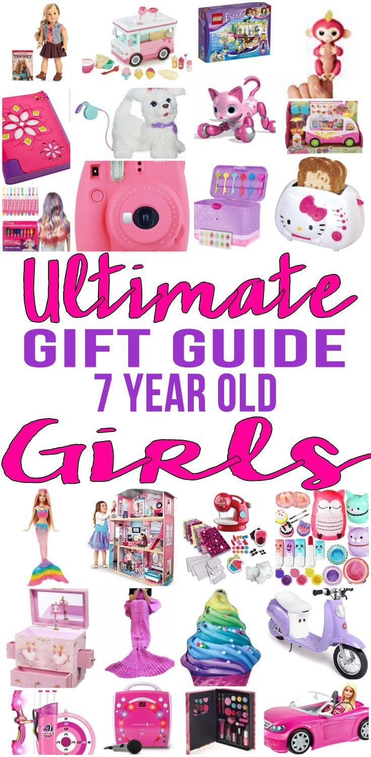 Best Gifts 7 Year Old Girls Will Love | 6 year old ...