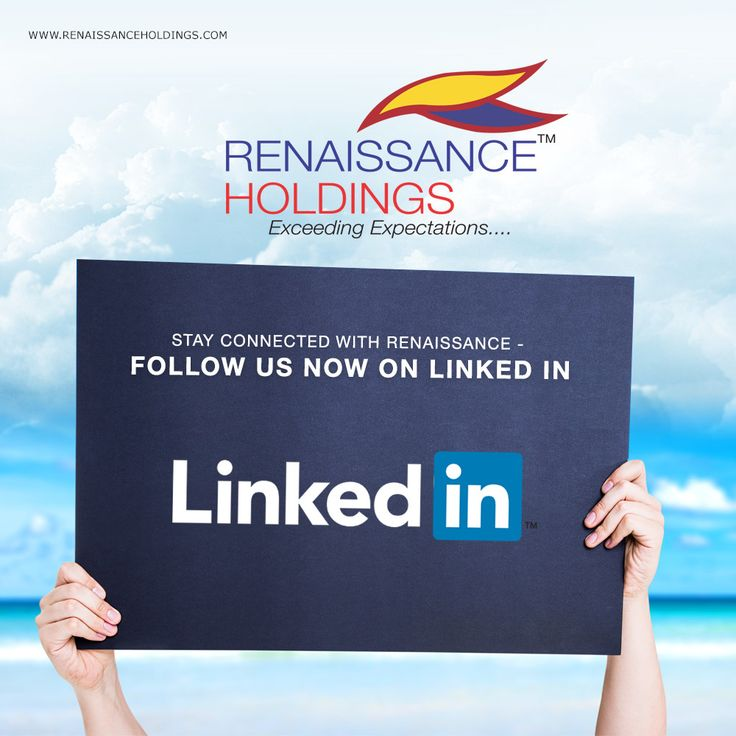 Stay connected with ‪#‎RenaissanceHoldings‬. Follow us on LinkedIn http://bit.ly/1KFbQ6h ‪#‎LinkedIn‬ ‪#‎RHD‬