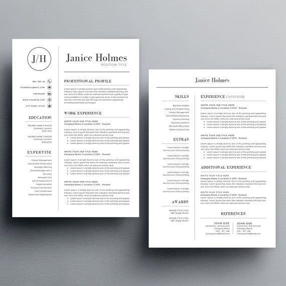 20 best Resume Template images on Pinterest Resume examples - novell certified linux engineer sample resume