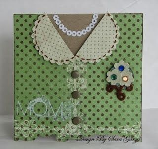 A Swap For All Seasons: a dressy card for mom