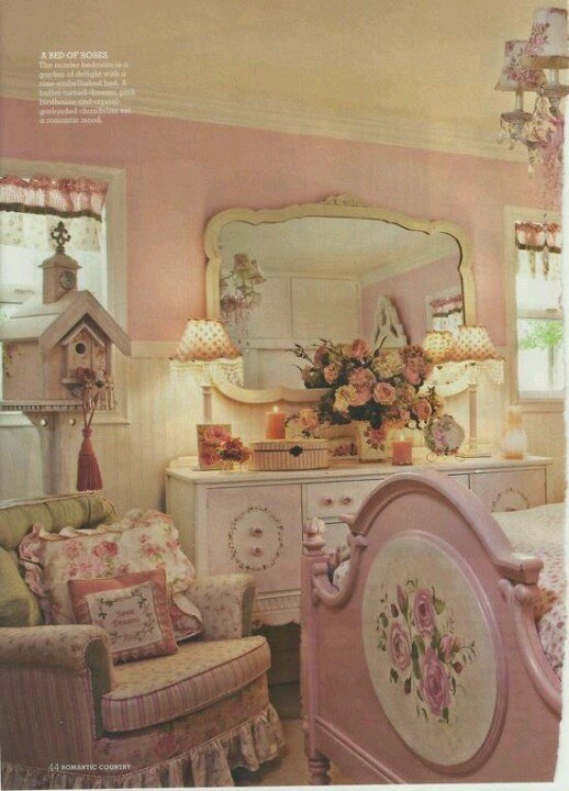 Romantic Cottage Bedroom Decorating Ideas: 17 Best Images About Pink & Shabby Chic For Bedroom On