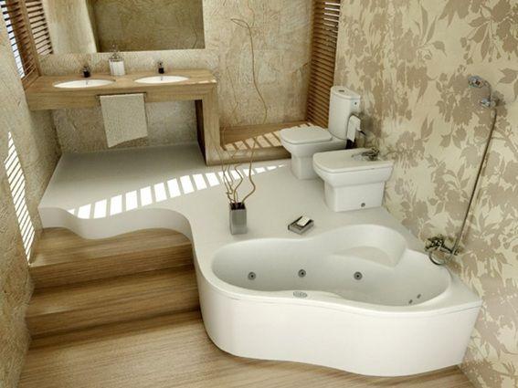 diseño-baño-con-tina-bañera-3.jpg (567×425)