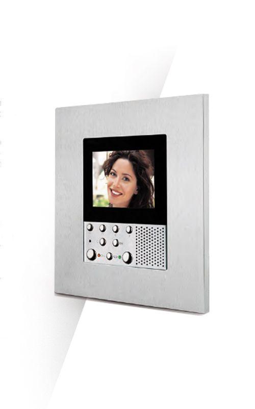 Portier vidéo MyHOME domotique, conjuguer esthétique et haute technologie #domotique