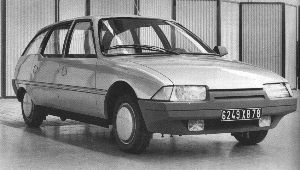 Citroën BX Break Prototype -  Projet XB, 1978