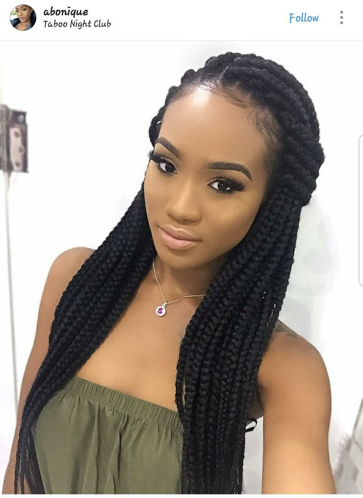 25 trending African american braided hairstyles ideas on Pinterest  Black braid styles