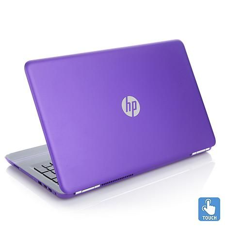 "HP Pavilion 15.6"" HD Touch, AMD A9 APU, 8GB RAM, 1TB HDD Windows 10 Laptop with - 8147577 
