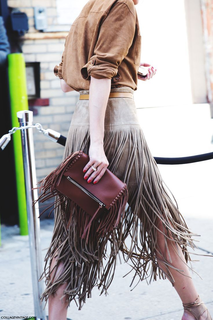 Fringing is set to be on our top list of SS15 fashion pieces.