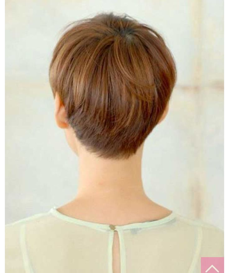 Back of a pixie. Neat, but still layered!