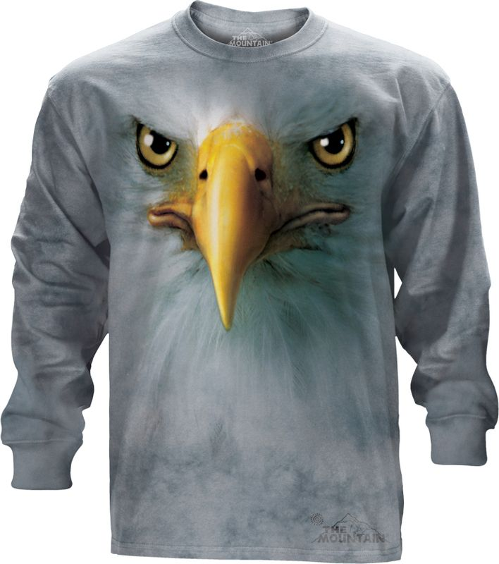 Eagle Long sleeve t-shirt @Click image to purchase