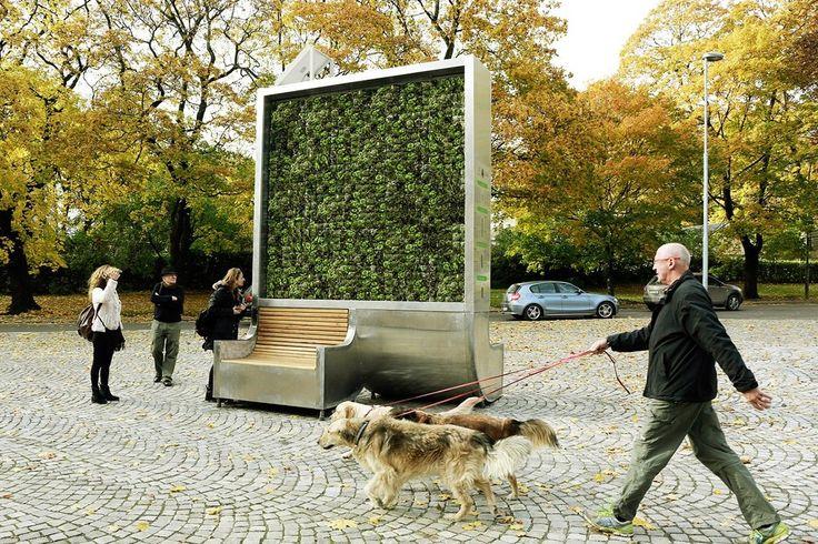Un árbol artificial absorbe la contaminación como si fuera un bosque entero