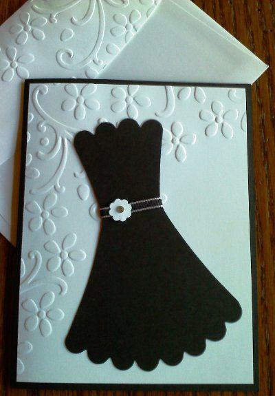 8 best images about bachelorette on pinterest handmade little black dress cardinvitation stopboris Choice Image
