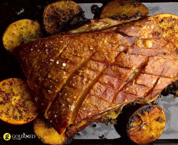Χοιρινό μελωμένο με πορτοκάλι - gourmed.gr