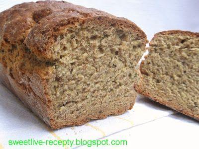 .. z lásky k vareniu ...: Nekysnutý celozrnný chlieb II. - bylinkový