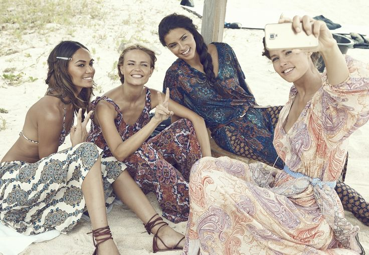 Stjernelag av supermodeller fronter ny H&M-kampanje | Costume.no
