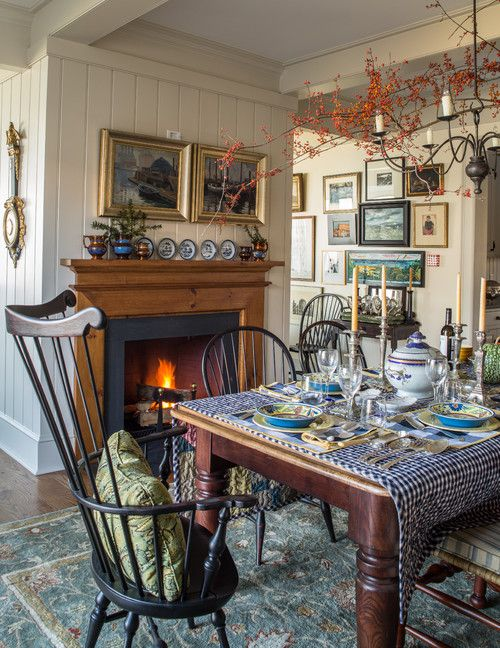 Early American Dining Room