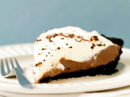 Chocolate Cream Pie Recipe | Brown Eyed Baker