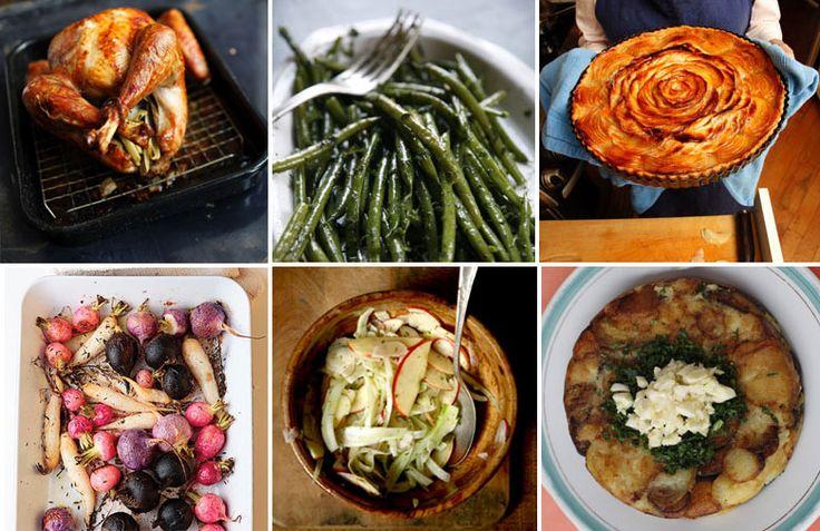 9 best thanksgiving dinner menus images on pinterest for Traditional southern thanksgiving dinner menu