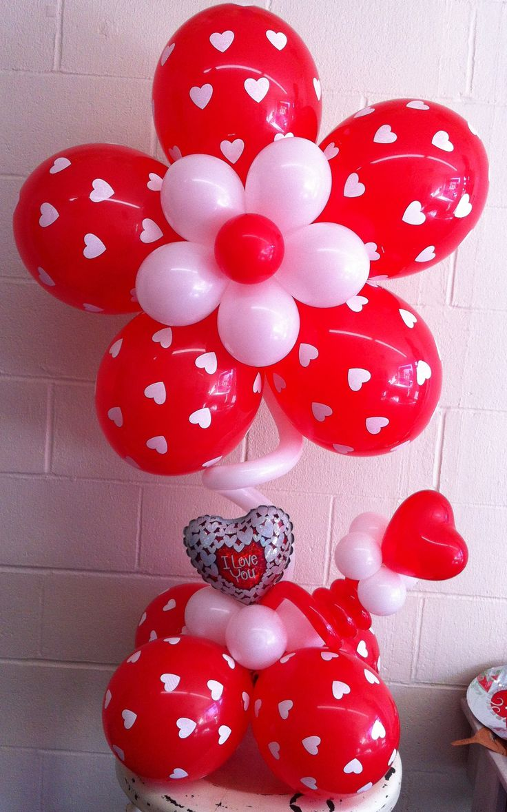 9 best Valentines Day Balloon Decorations images on Pinterest
