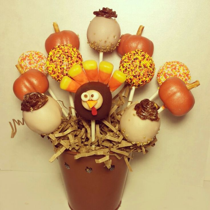 129 best Thanksgiving - Cake Pops/Balls images on ...