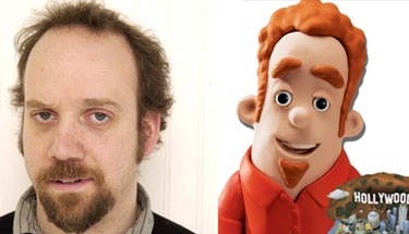 Paul Giamatti and that cartoon from hotels.com