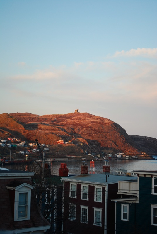 Sunset on Signal Hill,