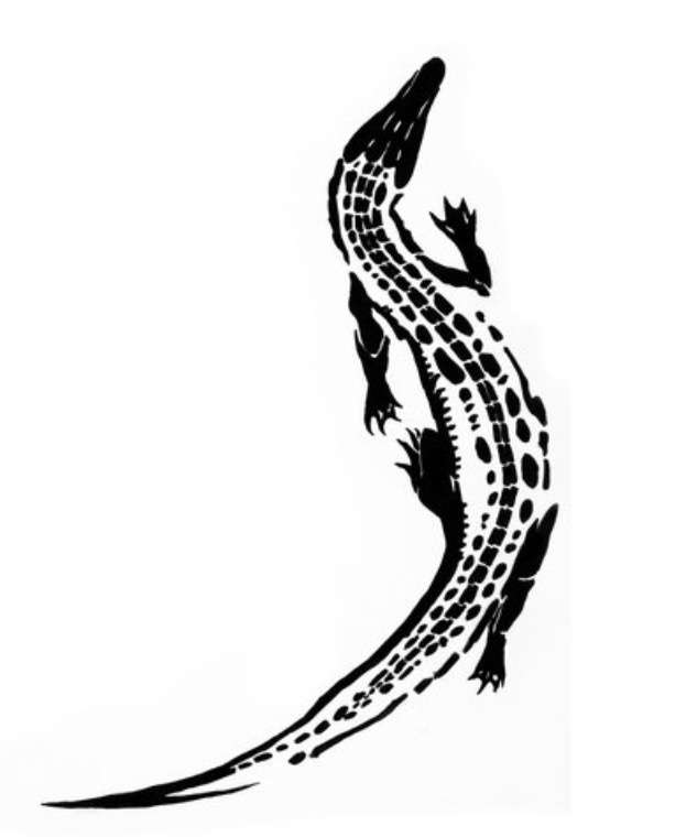 Need this tattoo, alligators are strong and wise, and have survived millions of years. Plus they're BA.