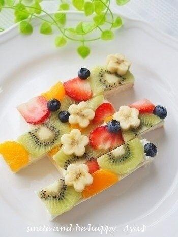 インスタで話題の食べ物!オープンサンド4選【スイーツ編】 | 4meee!