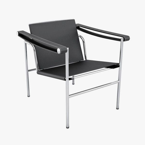 Basculant Chair LC1, 1929.