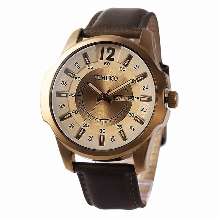 Multifunction leather fashion watch/Waterproof watch/Male quartz watch/Watch/Men's Watch-A: Amazon.ca: Watches