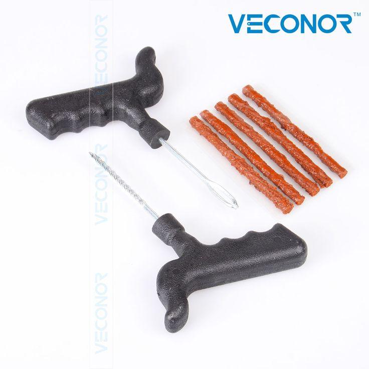 Veconor دراجة السيارات لايحتاج الإطارات البزل إصلاح أداة كيت ، المكونات الإطارات السيارات 5 شرائط ث/س الغراء
