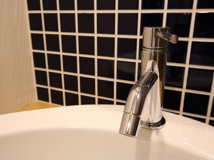「サンワカンパニーのリネア混合水栓(TA01379)」 - arakazさんのサンワカンパニーの洗面水栓 - イエナカ手帖