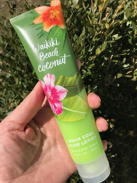 Bath Body Works Waikiki Beach Coconut Aqua Cool Aloe