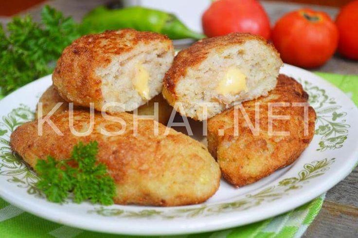 Рыбные котлеты с сыром. Пошаговый рецепт с фото