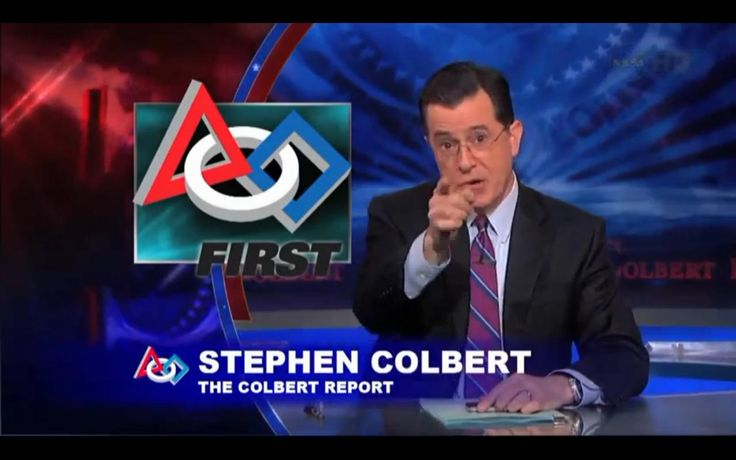 """""""Greetings, future techno-overlords.  Welcome to the 2012 FIRST Robotics Competition kickoff.  You kids and I have a lot in common."""" --Stephen Colbert"""
