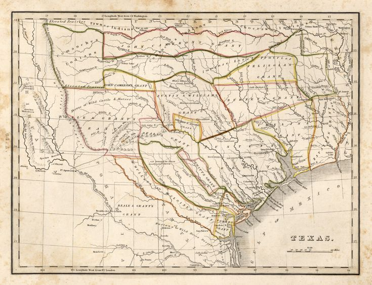 Best Historic Maps Of Texas And Mexico Images On Pinterest - Map of the us by large university