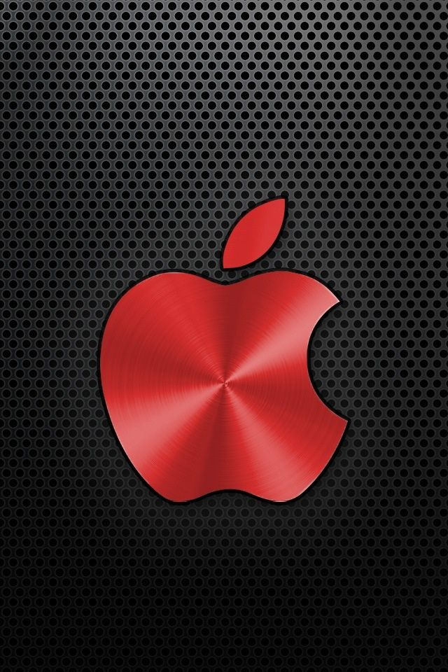 Red cool Apple logo | Computers++ | Pinterest | Logos, Apple logo and ...