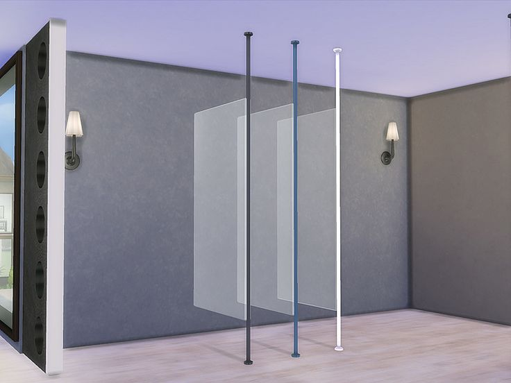 Bathroom Zing Glass Divider Found In Tsr Category Sims