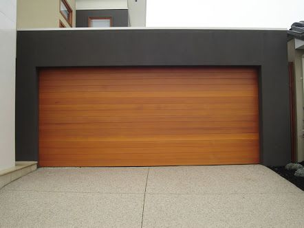 modern garage door - Google Search