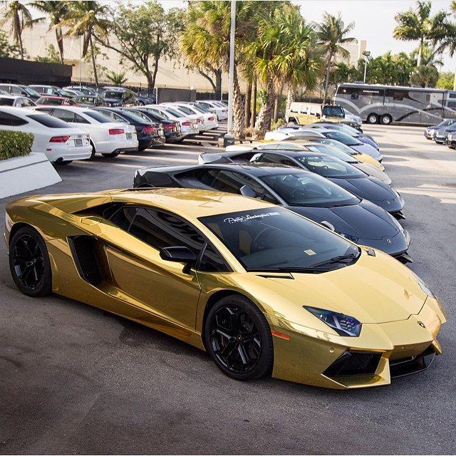 186 best Lamborghini - Gold, Silver & Chrome images on ...