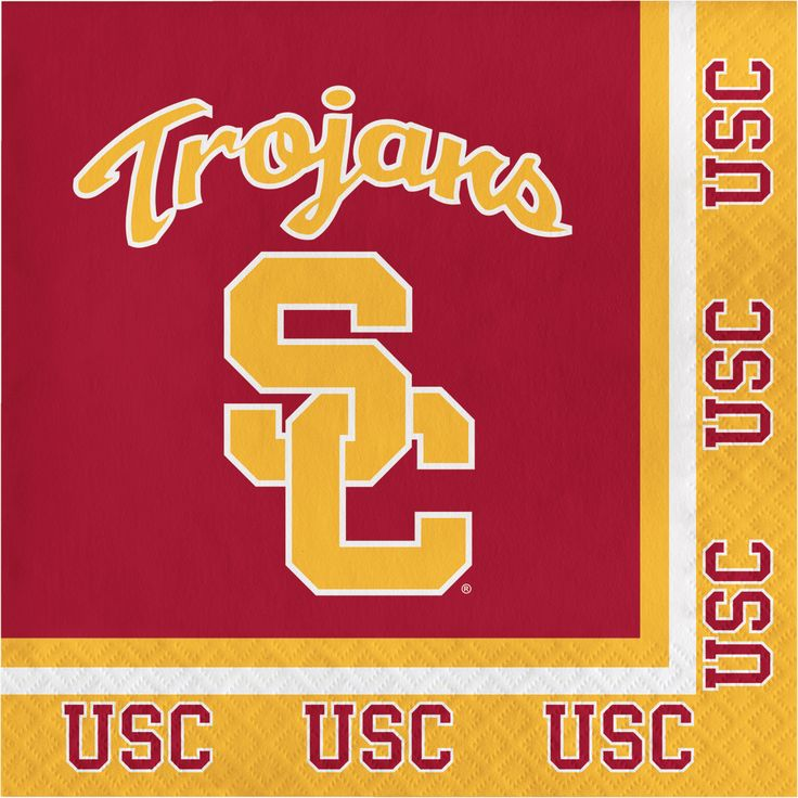 Univ of Southern California 2 Ply Lunch Napkins/Case of 240 Tags: University of Southern California; Lunch Napkins; Collegiate; University of Southern California Lunch Napkins;University of Southern California party tableware; https://www.ktsupply.com/products/32786326071/Univ-of-Southern-California-2-Ply-Lunch-NapkinsCase-of-240.html