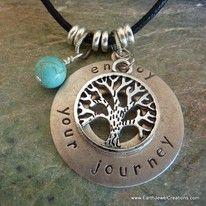 Affirmation Word Charms - Inspirational Crystal Jewellery Handmade by Earth Jewel Creations Australia