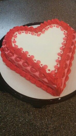 Dairy Queen Heart Cake By Mandy My Dairy Queen Cakes