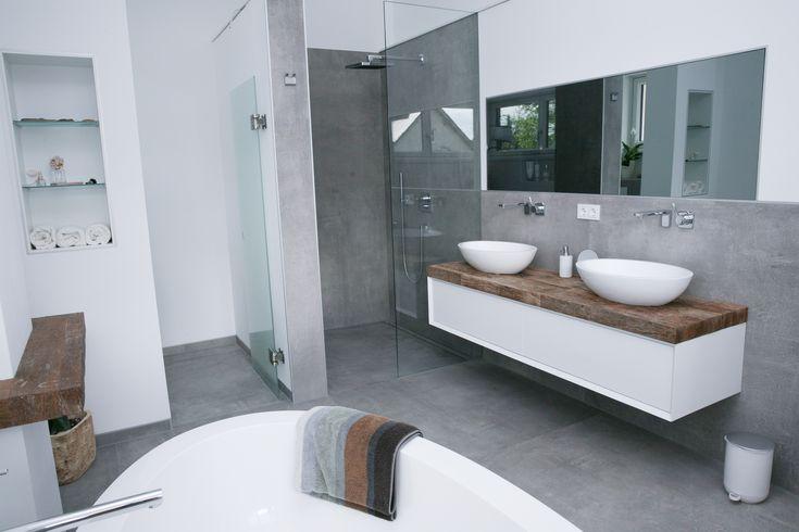 15 besten badezimmer ohne fliesen bilder auf pinterest for Aktuelle badezimmer fliesen