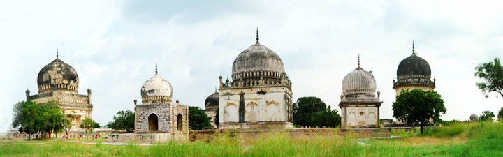 Qutb Shahi Tombs Complex  Qutb Shahi Tombs are located in Shaikpet village and…