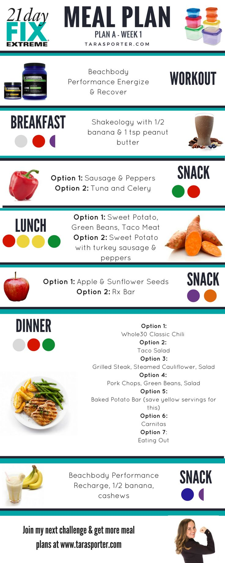 21 Day Fix Extreme Meal Plan