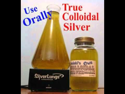 Mario Cifaldi , Maker of the Silver Lungs generator talks about colloidal and ionic silver - YouTube